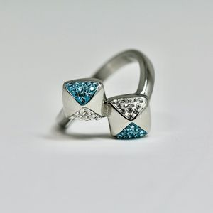 Double head special design statement Ring